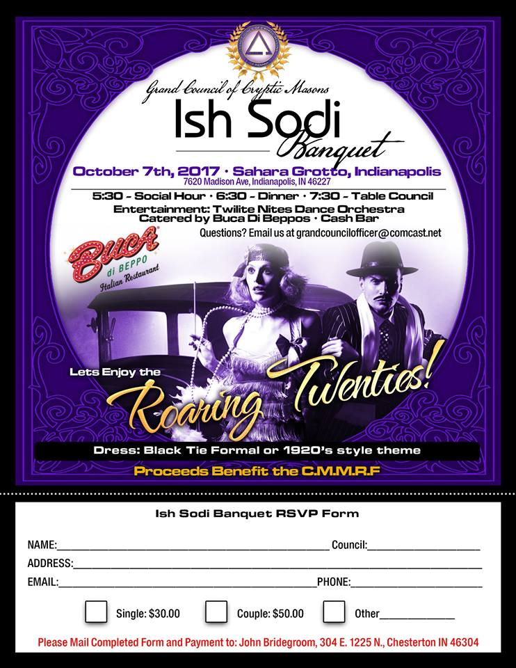 Ish Sodi Banquet - Indiana @ Sahara Grotto | Indianapolis | Indiana | United States